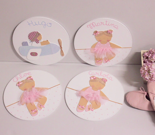placas de puerta personalizadas infantiles