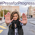 International Women's Day 2018 campaign theme:   #PressforProgress