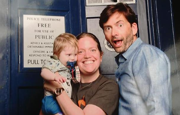 afb04d1ef18f PHOTOS  David Tennant With Fans At London Film   Comic Con - Part 1