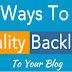 Backlinks for Blog Posts Strategy
