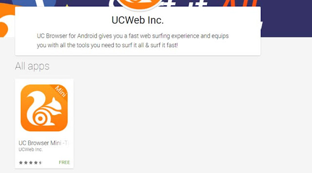UC Browser taken down from Google Play Store over *misleading promotions*