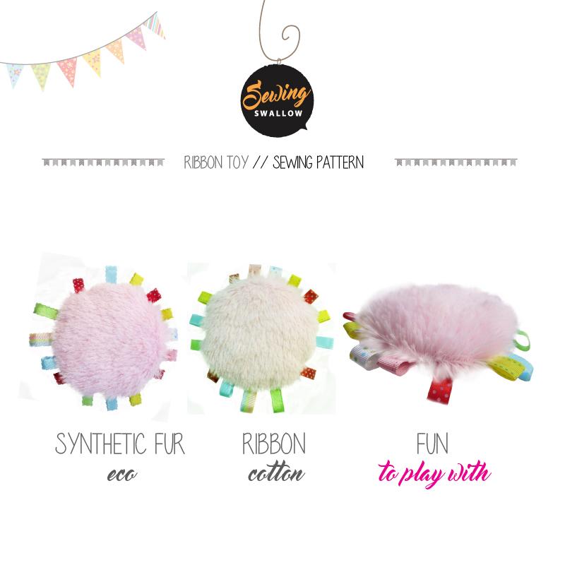 DIYStuffies: Baby RIBBON TOY sewing pattern