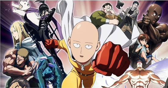 One Punch Man Sub Indo Season 1 Season 2 01 10 Anime Sub Indonesia