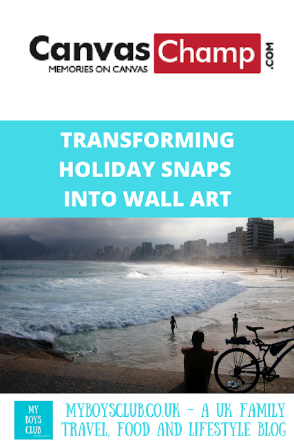 Transform Holiday Photos into Wall Art with canvas champ