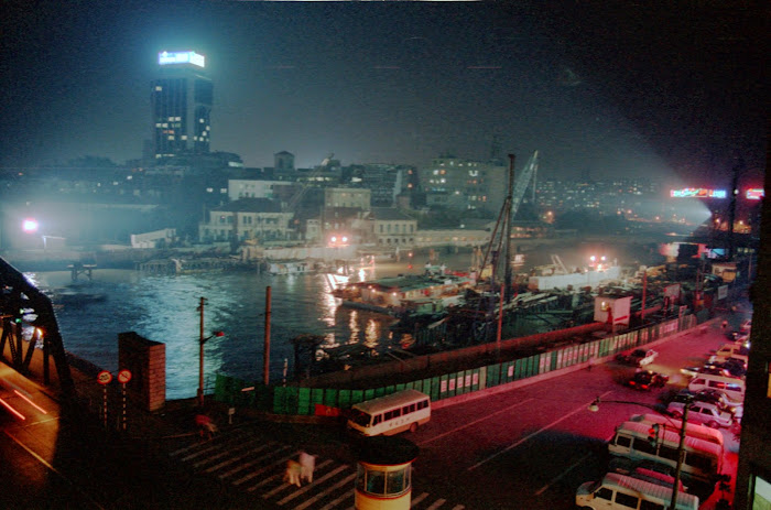 Shanghai, pont Waidaibu, Wusong, © L. Gigout, 1990