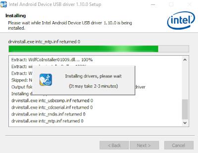 Sekarang driver Intel telah terpasang di PC kalian.