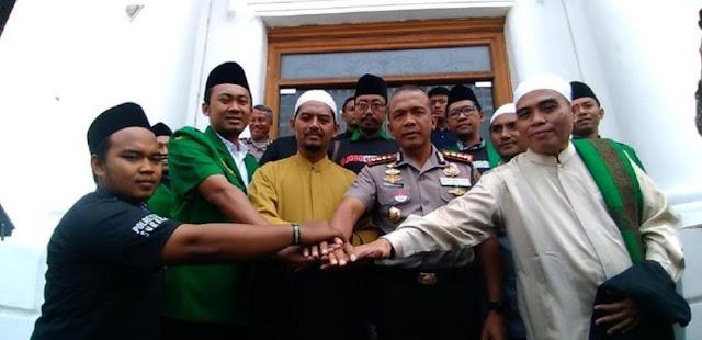 Banser dan FPI yang Ribut Saat Deklarasi #2019GantiPresiden di Surabaya, Kini Berdamai
