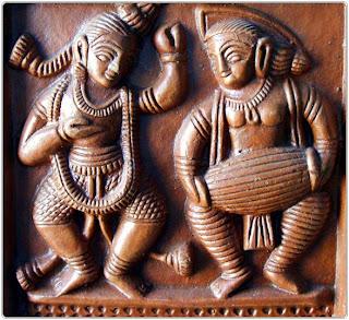 Teracotta vase , clay art, bengal art