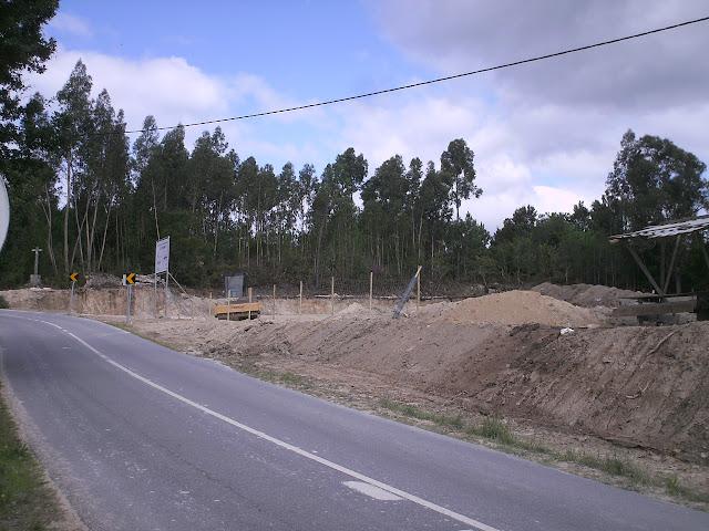 Fotografia do Futuras instalações do centro de inspeção técnica de veículos de Freixieiro de Soutelo