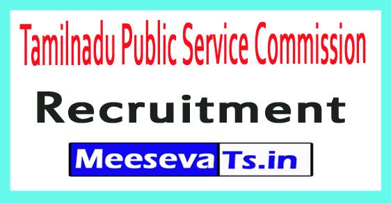 Tamilnadu Public Service Commission TNPSC Recruitment