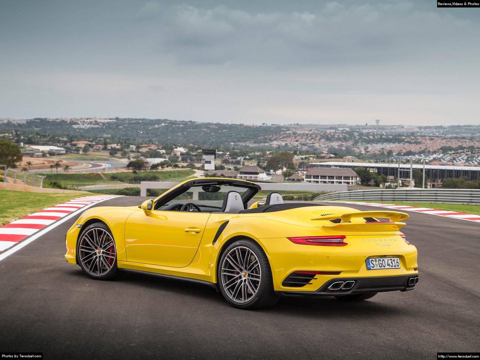 Hình ảnh xe ô tô Porsche 911 Turbo Cabriolet 2016 & nội ngoại thất