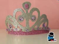 tiara principessa carnevale