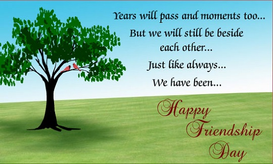 Friendship Day Wishes in Advance