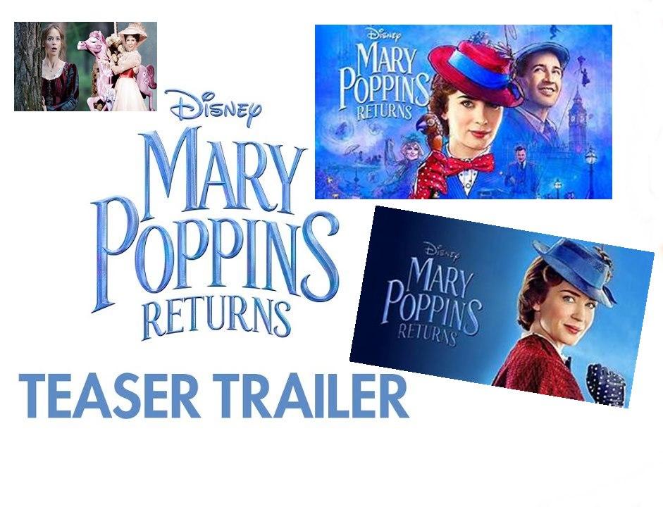 Dirilis 19 Desember Film Mary Poppins Returns 2018 Figur News
