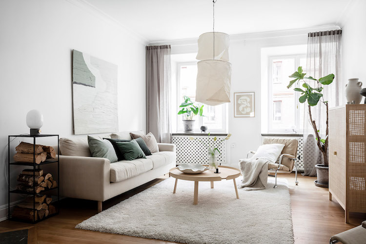 A Swedish Home In Soothing Neutrals