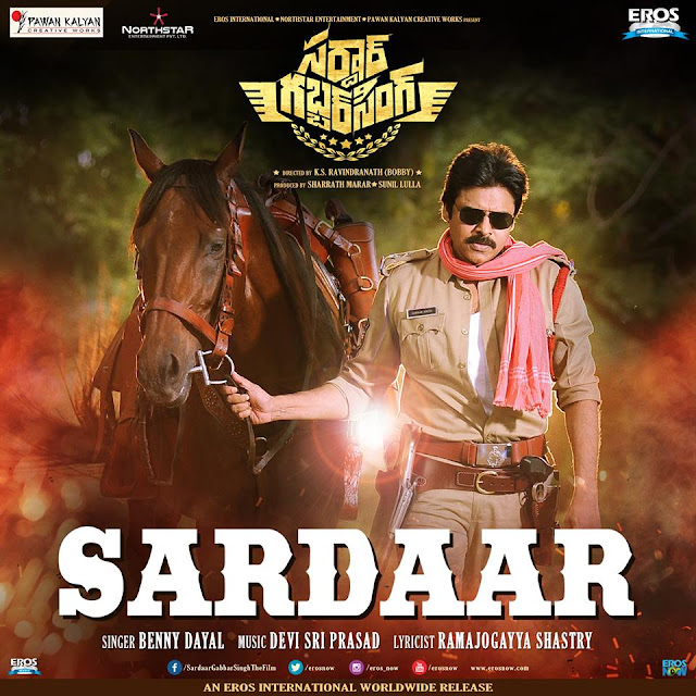 Watch Sardaar GabbarSingh Official Teaser, The Film stars Pawan Kalyan and Kajal Aggarwal in lead roles. Directed by KS Ravindra. Music composed by Devi Sri Prasad. Produced by Pawan Kalyan Creative Works and Northstar Entertainment Pvt. Ltd. in association with Eros International