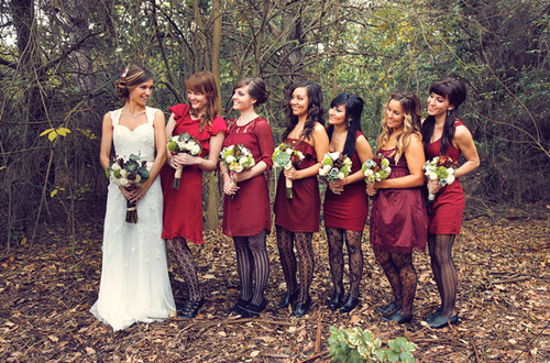 Choose To Wear Fancy High Boots Complement The Design And Color Of Their Clothing If You Dress Bridesmaid Long Enough No One Can Observe Her