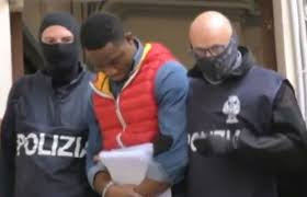 Picture of  Black Axe mafia gang suspects arrested in police raids across Italy