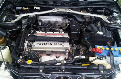 Performa Mesin Corolla Twincam GTi