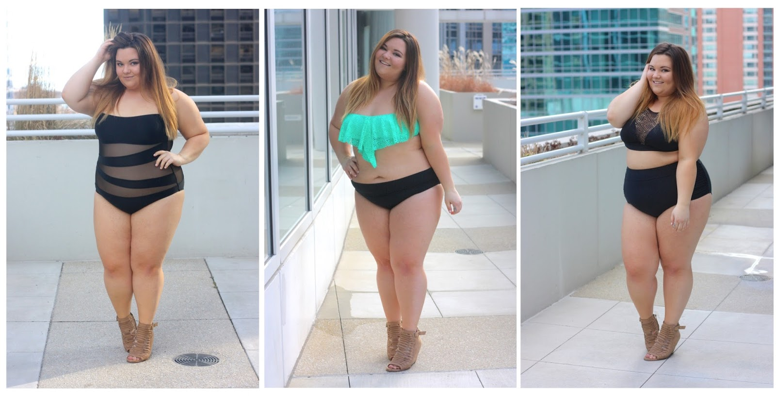 plus size bikini, plus size fashion, target style, target swim 2016, #NOFOMO, no fear of missing out, plus size swim suits, swim suits for all, curvy girl in swim suit, embrace your curves, psfashion, eff your beauty standards, natalie craig, natalie in the city, target, high waist swim suit