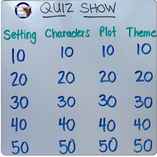 I love playing Quiz Show with my students on Kahoot or with questions they made just using my white board!