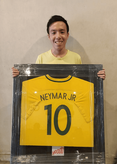Pemenang Jersi Autograf Bintang Bola Sepak Dunia Yoodo,