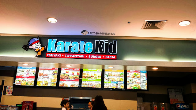 Karate Kid in Lucky Chinatown Mall Food Court