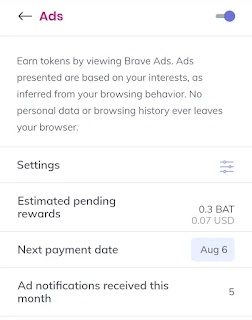 brave payment date