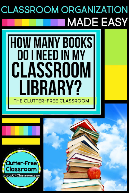 "This page will answer the question, ""How many books should a classroom library have"" and will link teachers to ways to get free books for their own classrooms."