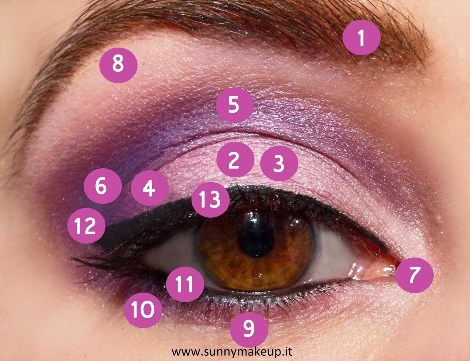 Amato Make up occhi e labbra Radiant Orchid - Sunny Makeup | Blog  JZ14