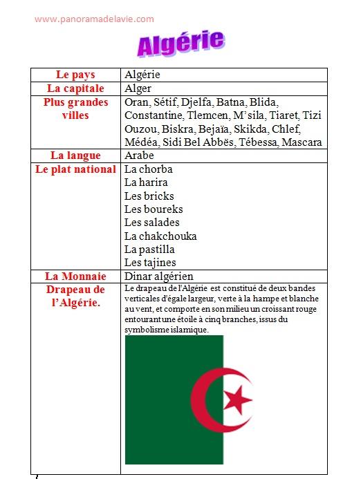 بحث جاهز حول الجزائر