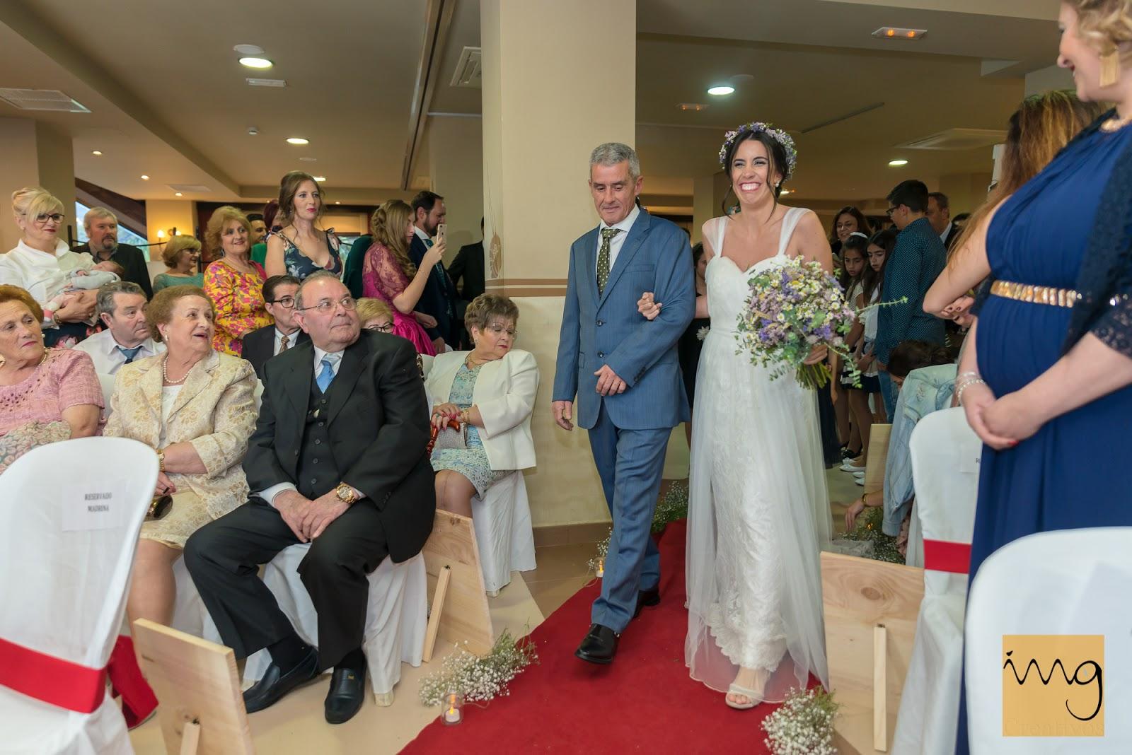 Fotografía de boda emocionante