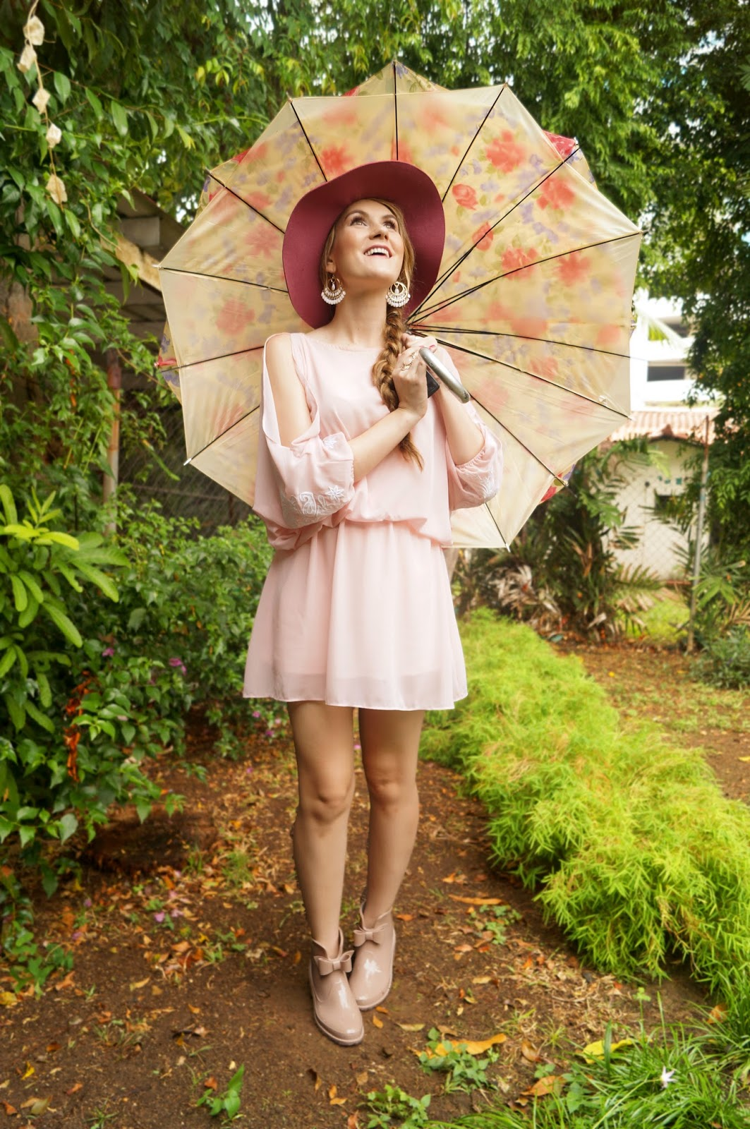 Click through to see other ways to wear this pink dress!