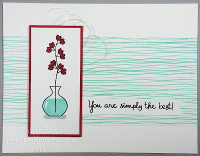 Heart's Delight Cards, Varied Vases, Lilypad Lake, Stampin' Up!