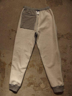 "Engineered Garments ""Raglan Zip Hoody & Sweat Pant - CP Fleece"""