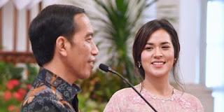 Presiden Jokowi Berdua bersama Raisa