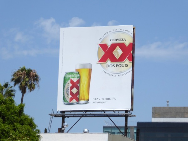 Dos Equis XX beer billboard
