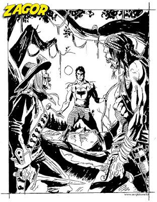 Zagor #615:: Zenith 666 (prova cover 5, Alessandro Piccinelli)