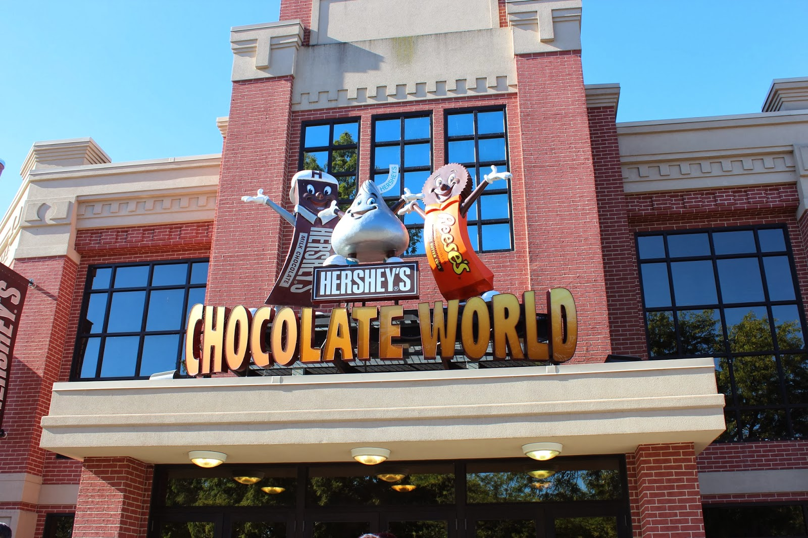 Food is our Religion: Hershey's Chocolate World and