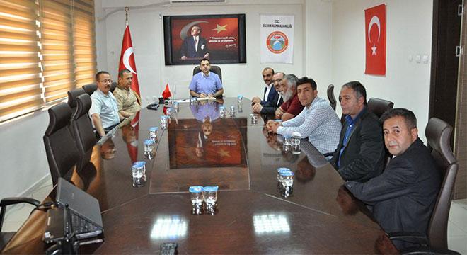 Silvan'da Seçim Güvenliği Toplantısı yapıldı