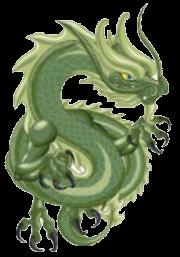Jade-Drache