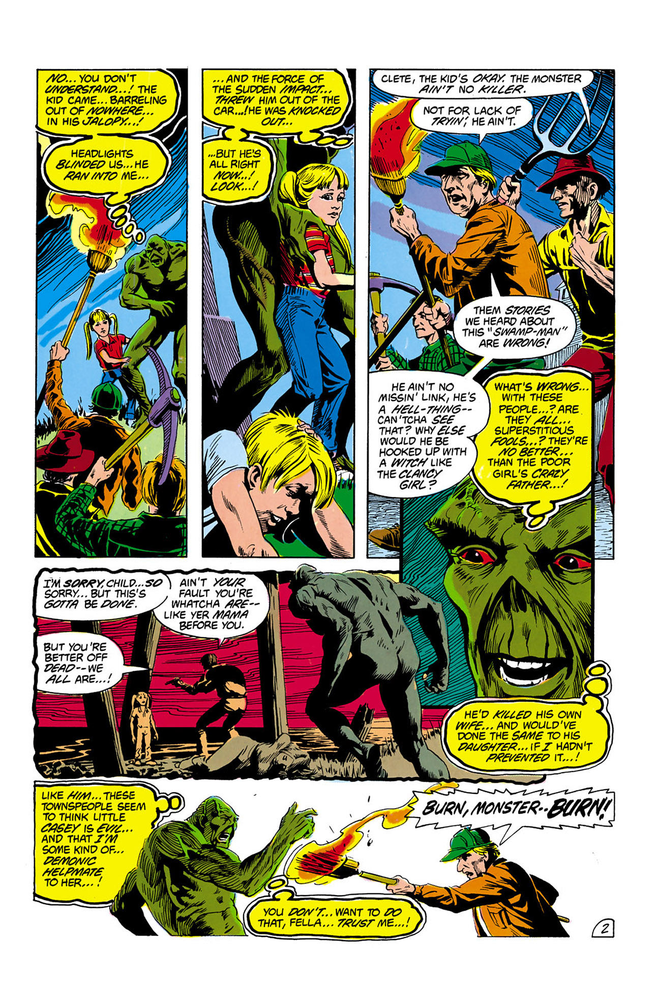 Swamp Thing (1982) Issue #2 #10 - English 3