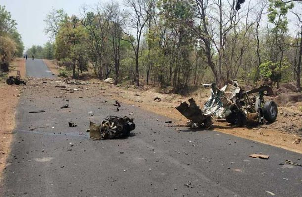 Gadchiroli Naxal attack: 16 Security faculty Killed in IED Blast