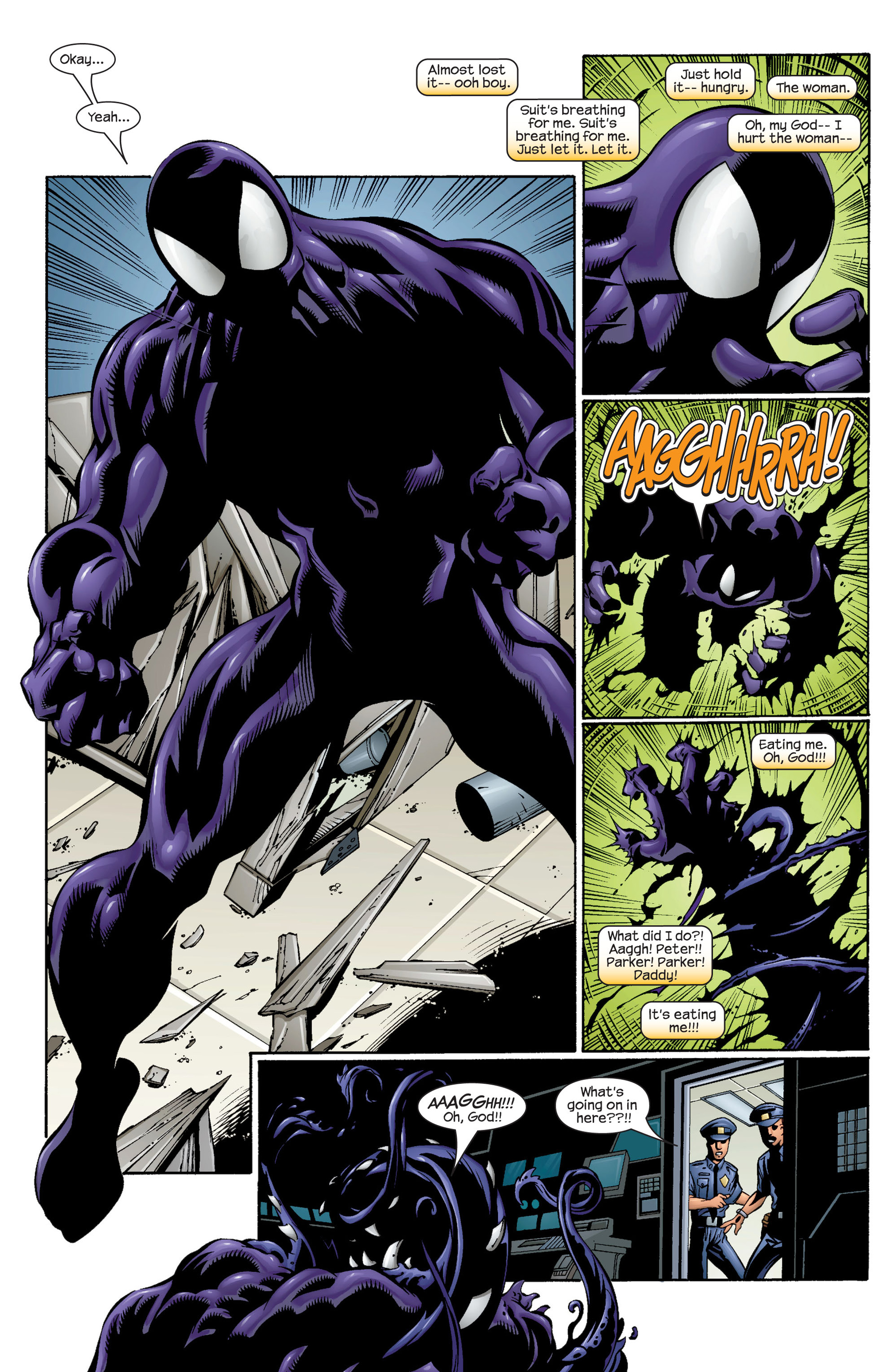 Read online Ultimate Spider-Man (2000) comic -  Issue #37 - 16
