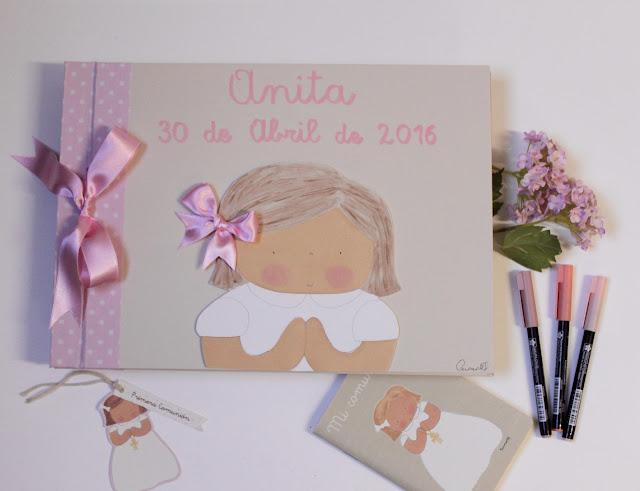 album-fotos-comunión-libro-firmas-personalizado