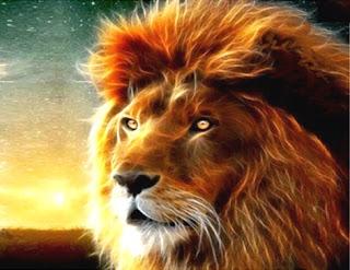 Er leone riconoscente (Trilussa)