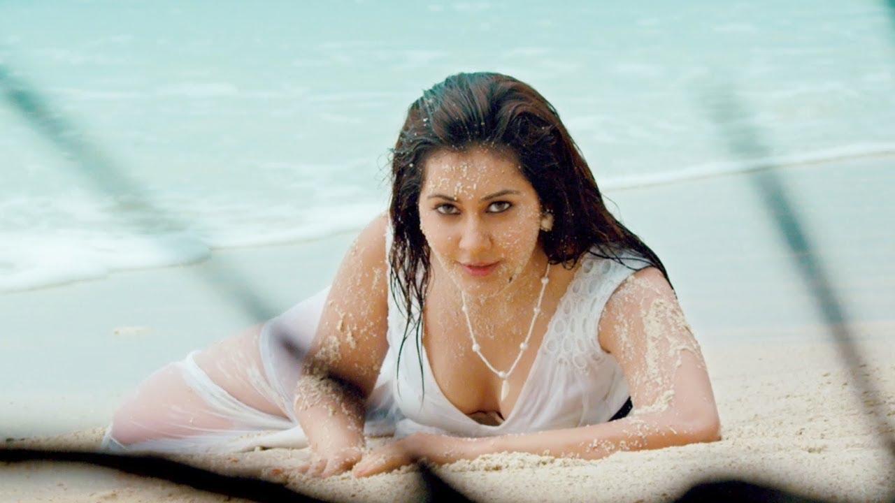 Rashi Khanna Hot Beachside Swimwear Pics