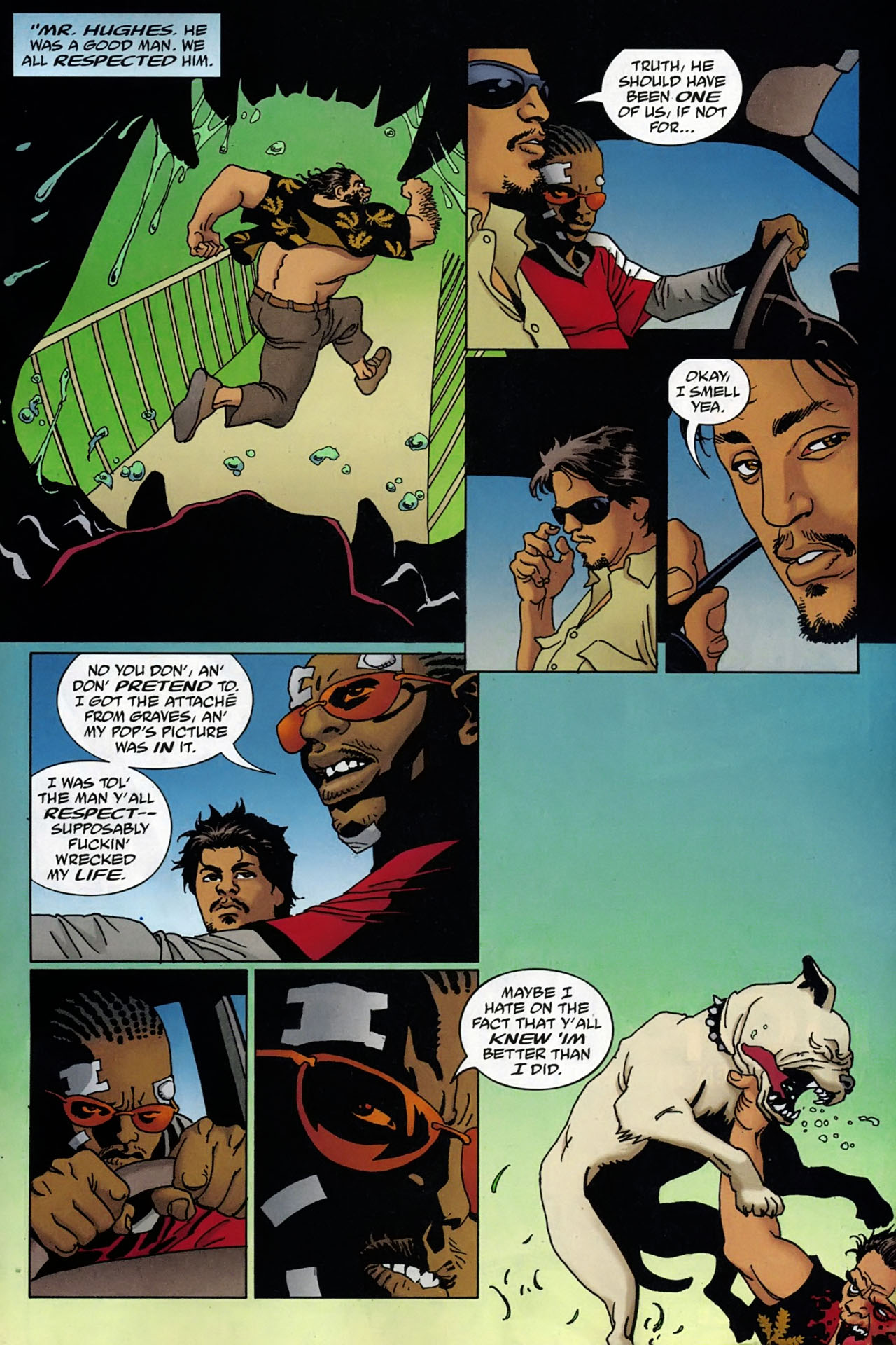 Read online 100 Bullets comic -  Issue #97 - 17