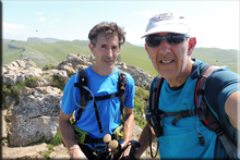 Larrunarri mendiaren gailurra 1.342 m. - 2018ko abuztuaren 22an
