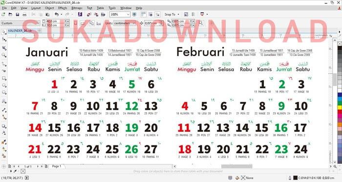 download kalender terbaru